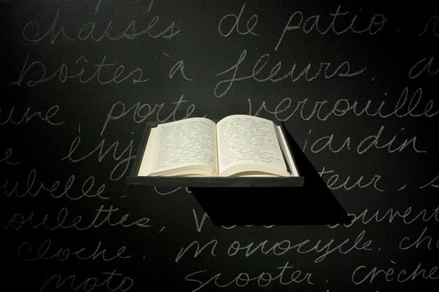 Accumulation (View of bookwork)