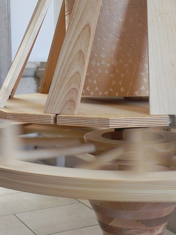 The Choice Spinner (Detail of wheel spin)