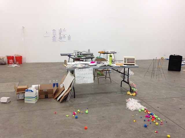 Make it Work, installation shot from Day 1