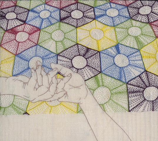 Secret Language of Quilts Wagon Wheel