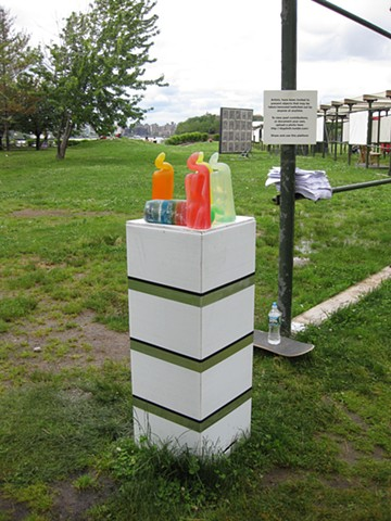 Do It Yourself Outside Portable Pedestal Drawing