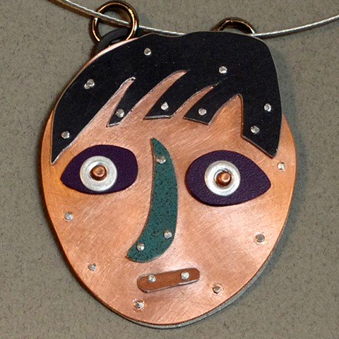 Pendant (self portrait)