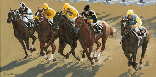 Untitled [Race Horses]