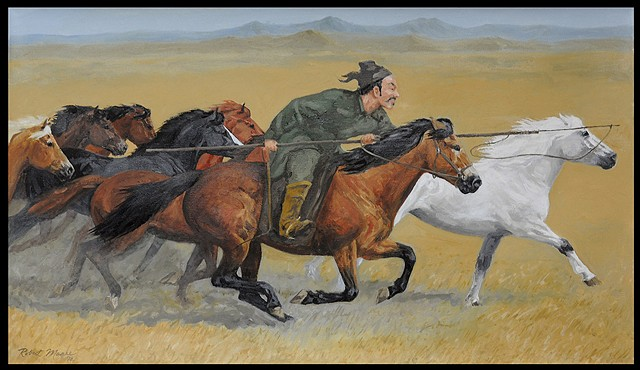 Capturing Wild Horses