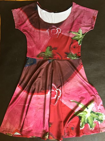 Strawberry Queen Dress - perfect for Spring