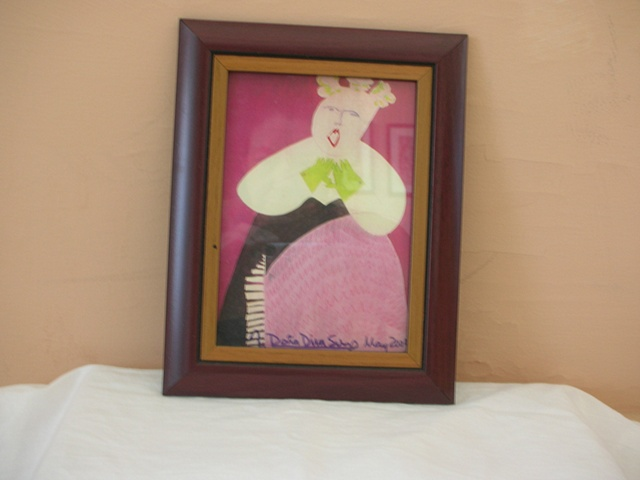 "Small print of ""Dona Diva"" painting by Patricia Dubroof"