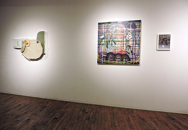 We Have a Back Room With Other Things: Mel Cook + Megan Stroech, Heaven Gallery, Chicago