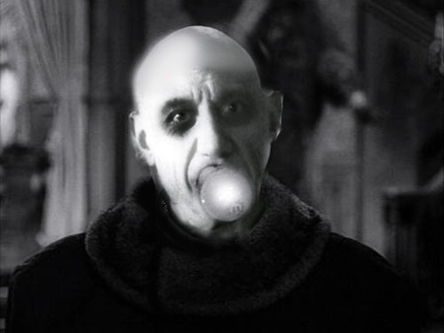 Picasso as Uncle Fester