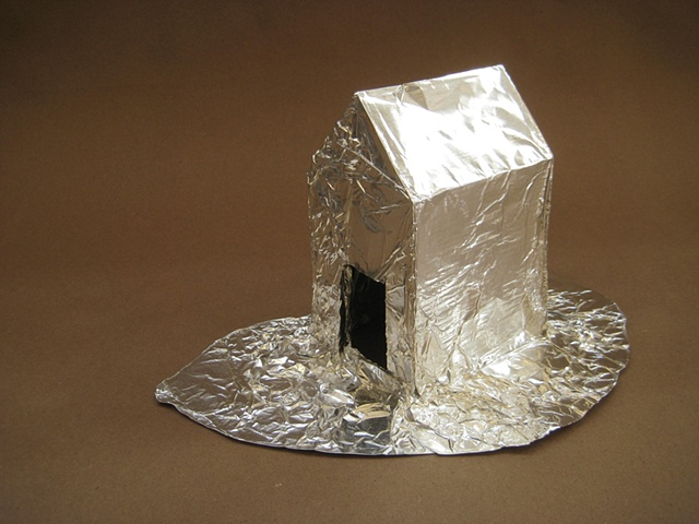fun with a roll of heavy duty aluminium foil