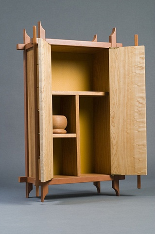 first cabinet (inside)