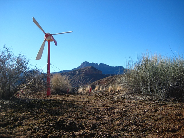 Transient Windmill (High desert Bluff)