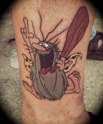 captain caveman tattoo