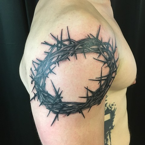 tattoo, black and grey tattoo