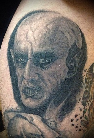 healed nosferatu tattoo