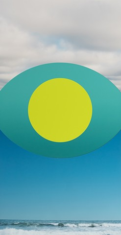 Chartruse Circle in the Sky