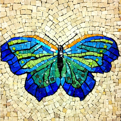 Butterfly Mosaic Art Julie Richey