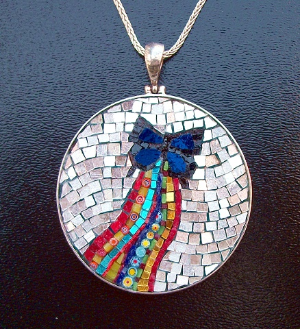 Butterfly Art Jewelry Margo Anton Mosaic