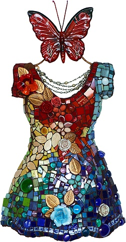 China Dress Mosaic Susan Wechsler