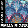 Emma Biggs, Visiting Artist Design & Pattern in Mosaic  October 5 - 6, 2013 10:00 - 4:00 Each Day $400 plus Materials Fee TBA