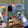 Before Dawn Design: Romare Bearden Fabrication:  Crovatto Mosaics, Italy