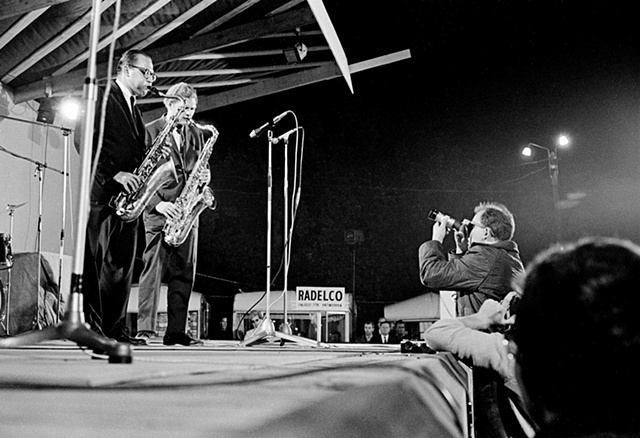 Al Cohn and Zoot Sims at the Bilzen Jazz Festival, Belgium