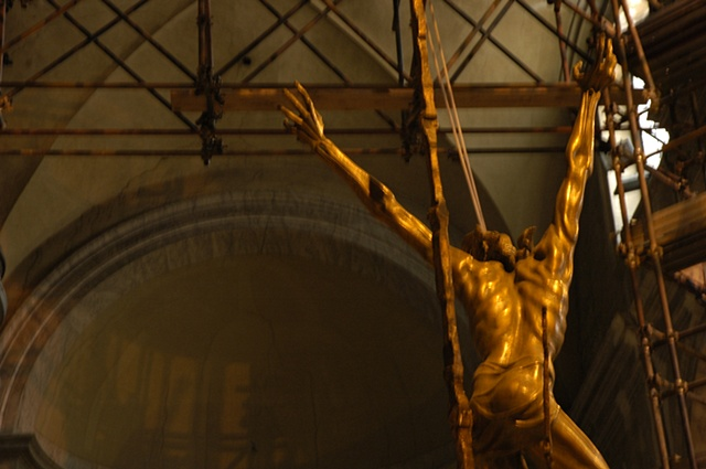 Christ Under Construction, Rome