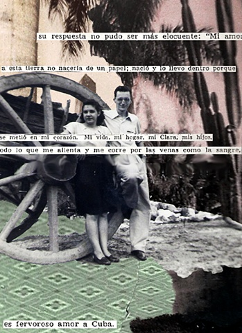 fervoroso amor a cuba man woman wheel collage