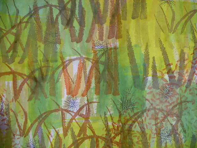 Chartreuse Grass