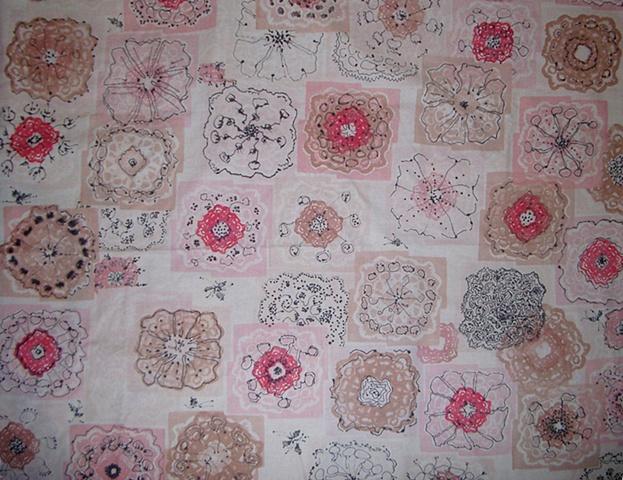 Lotus Pink & Brown