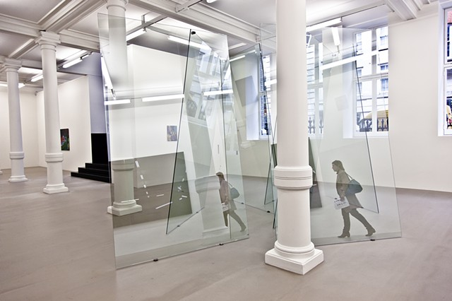 7 Panes of Glass (House of Cards) by Gerhard Richter, Marian Goodman Gallery, London.