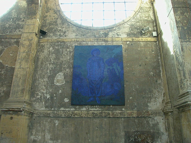 Gilles (Blue), Installation,  Faux- Mouvement, Metz, France, 2003, Installation