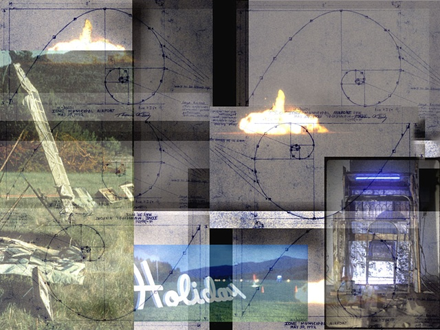 iks'-plod  1992 artwork and explosives (movie excerpt) - 11 seconds, still montage 2007