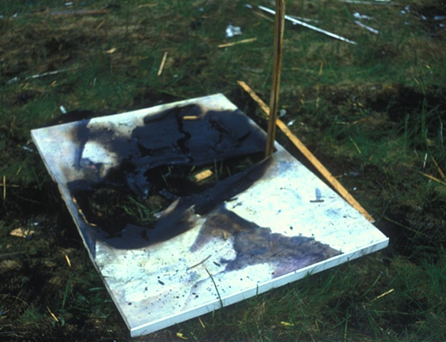 Destroyed Kaiser Painting  1994
