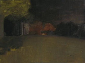 vermont landscape at night