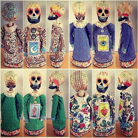 Loteria Puppets