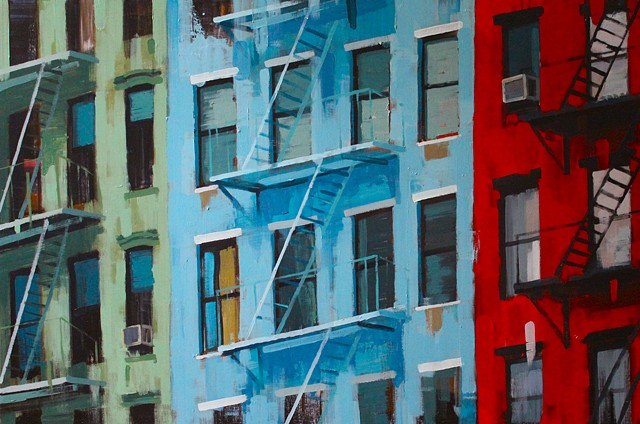 Boston Fire Escape