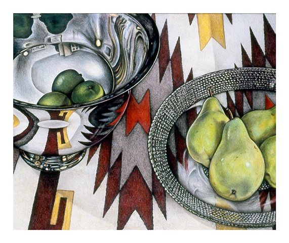 colored pencil still life archival print