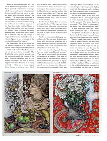 Article about how to use Colored Pencils and my personal experiences with the medium.