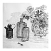 """Copper Pitcher,"" Black and White"