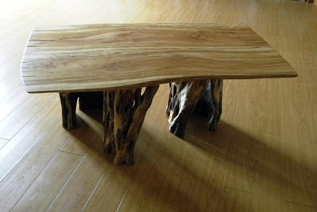 Birch Slab Table