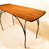 Butternut Hall Table