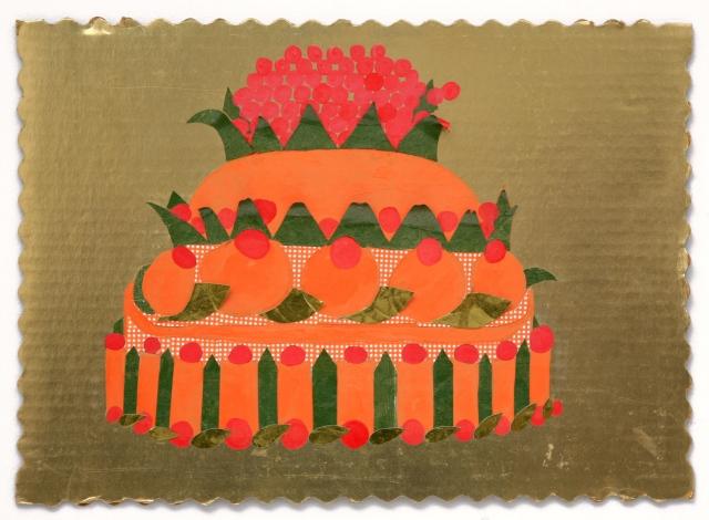 Orange and Red Cake