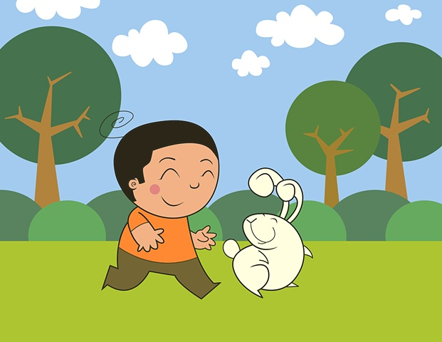 The Boy and The Rabbit