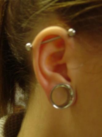 Industrial Piercing- Piercings by Jill