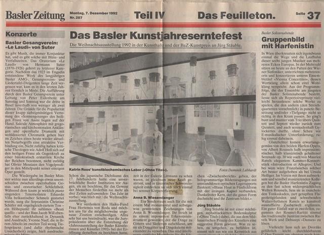 Basler Zeitung (newspaper of Basel)