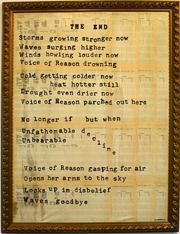 A Cimate Change Poem