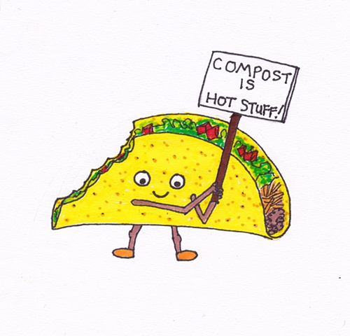 Trevor The Compost Taco