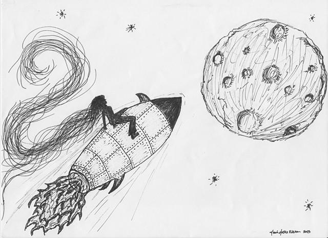 """Inspired by Georges Méliès film :Voyage Dans La Lune"""""""
