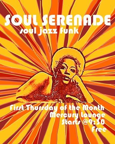 soul funk jazz Soul Serenade Poster