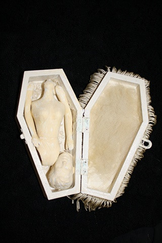 Submission for Creepy LA's Haunted casket Hunt and Auction
